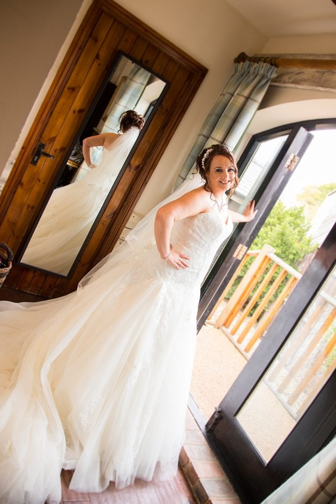 The Old Barn at South Causey Inn Wedding Photographer 16