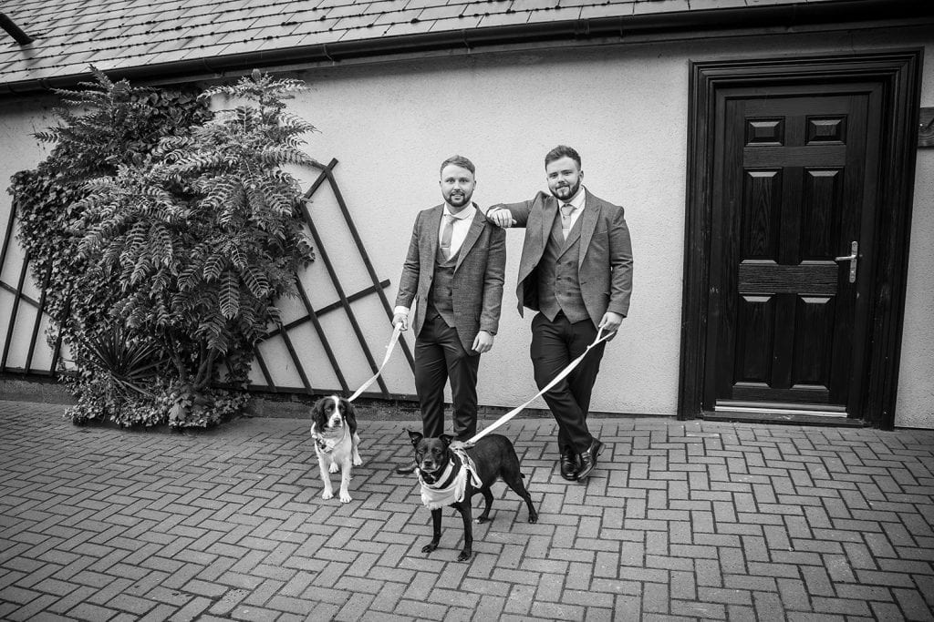 The Old Barn at South Causey Inn Wedding Photographer 17
