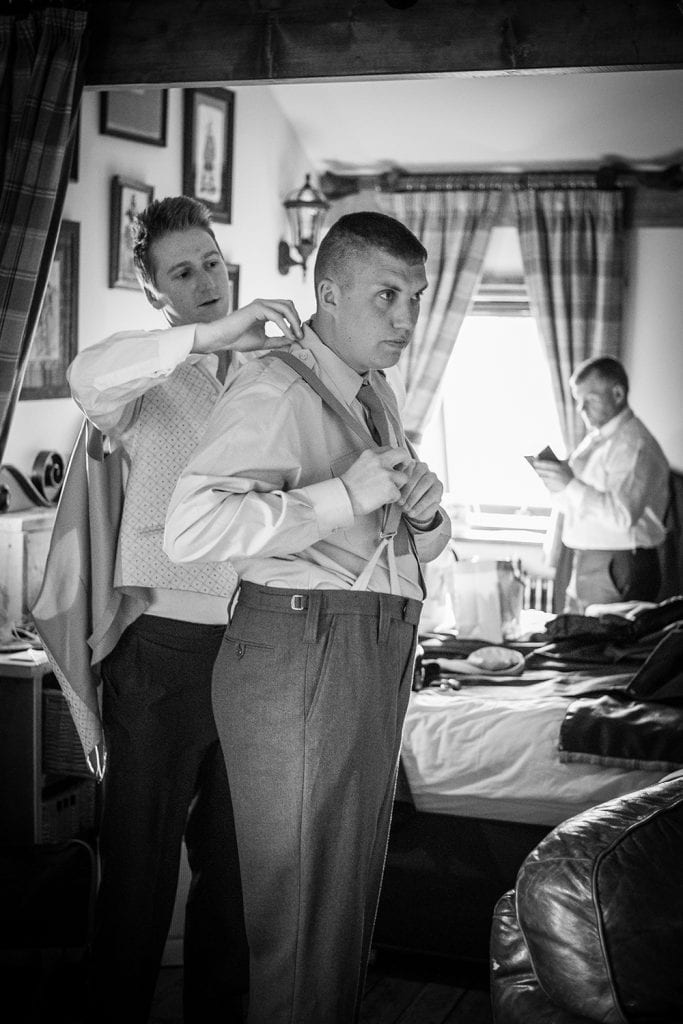 The Old Barn at South Causey Inn Wedding Photographer 18