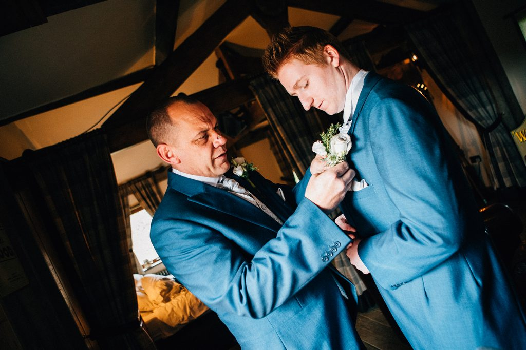 The Old Barn at South Causey Inn Wedding Photographer 22