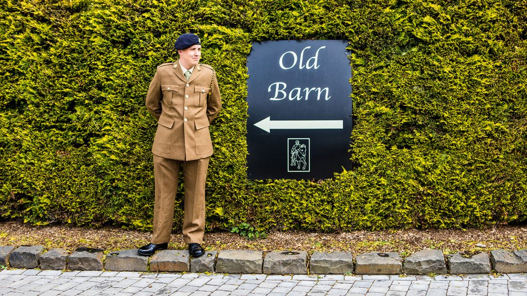 The Old Barn at South Causey Inn Wedding Photographer 24