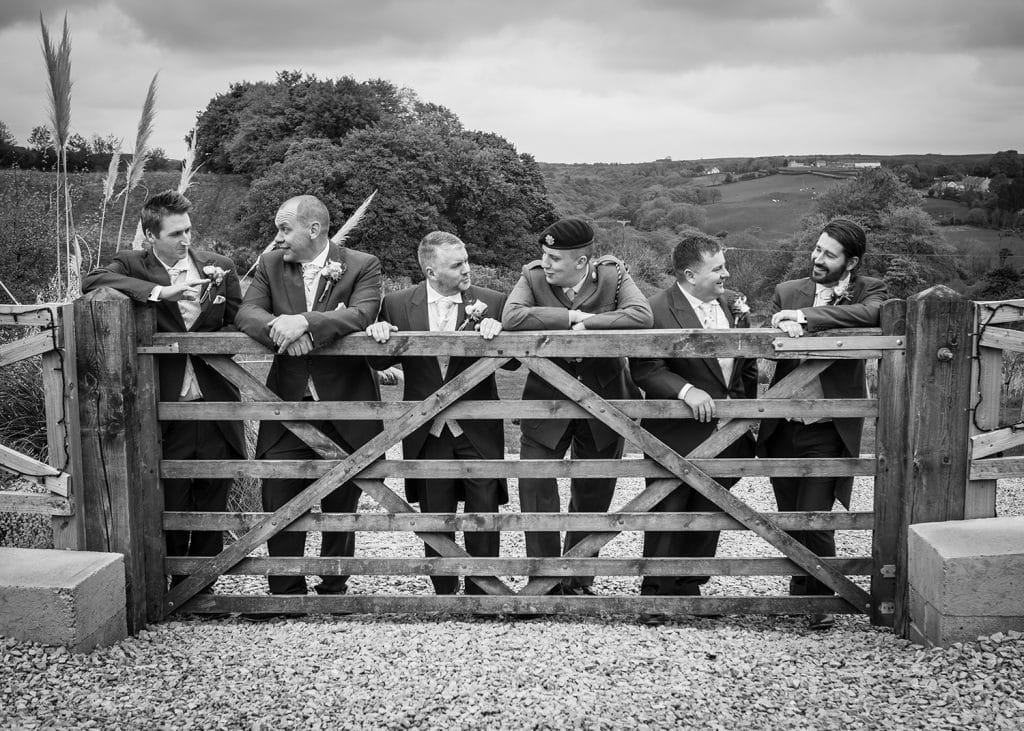 The Old Barn at South Causey Inn Wedding Photographer 26