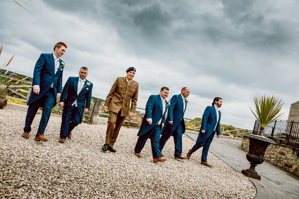 The Old Barn at South Causey Inn Wedding Photographer 27