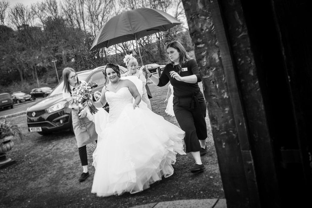 The Old Barn at South Causey Inn Wedding Photographer 31