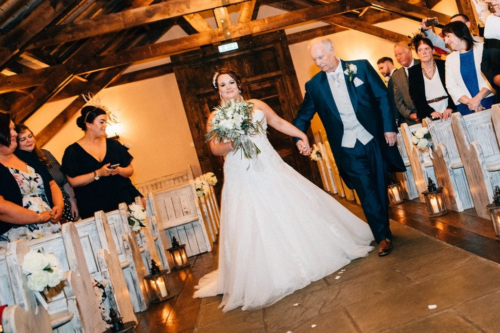 The Old Barn at South Causey Inn Wedding Photographer 33