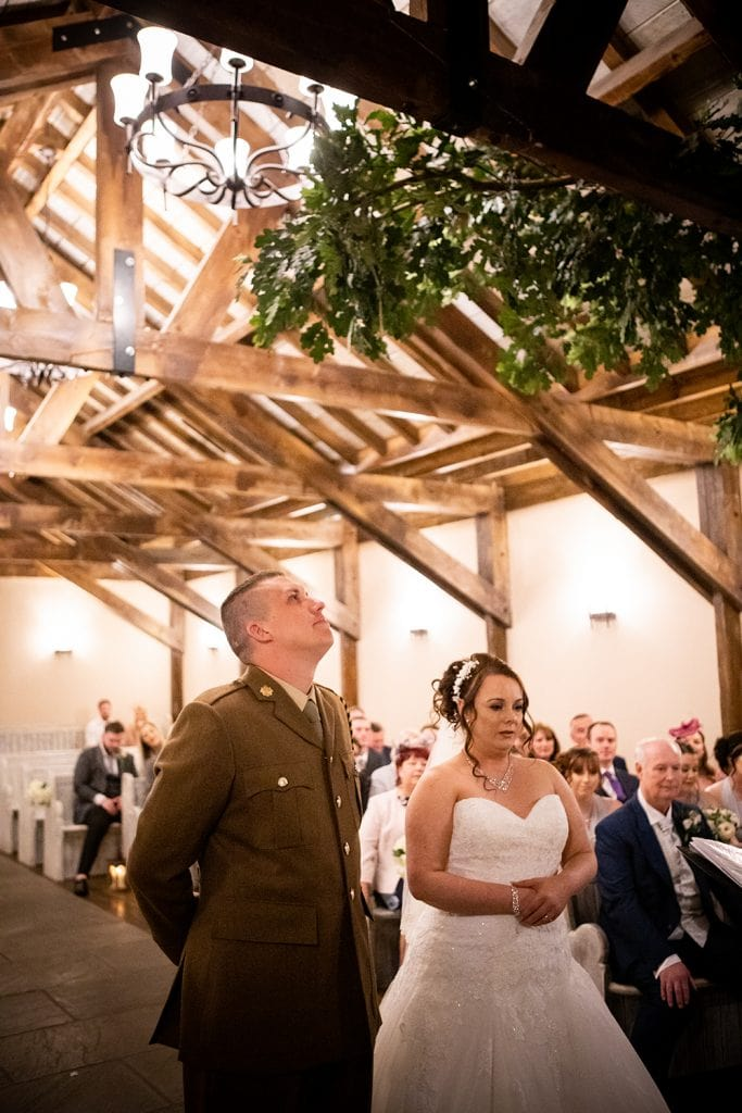 The Old Barn at South Causey Inn Wedding Photographer 35