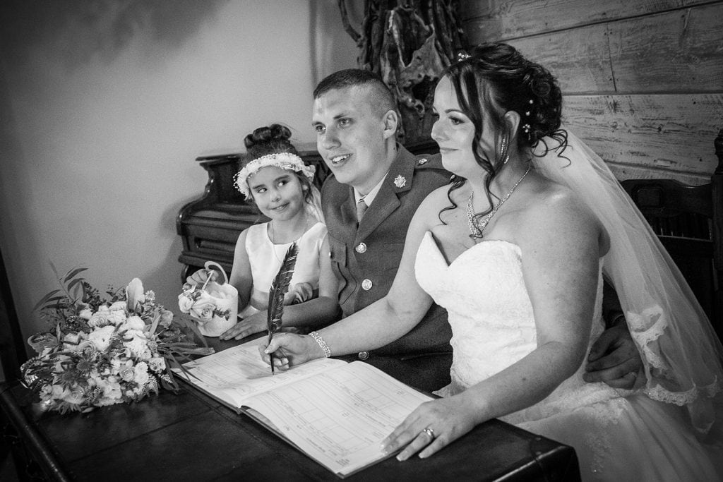 The Old Barn at South Causey Inn Wedding Photographer 38