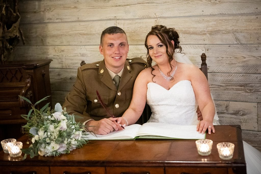 The Old Barn at South Causey Inn Wedding Photographer 39