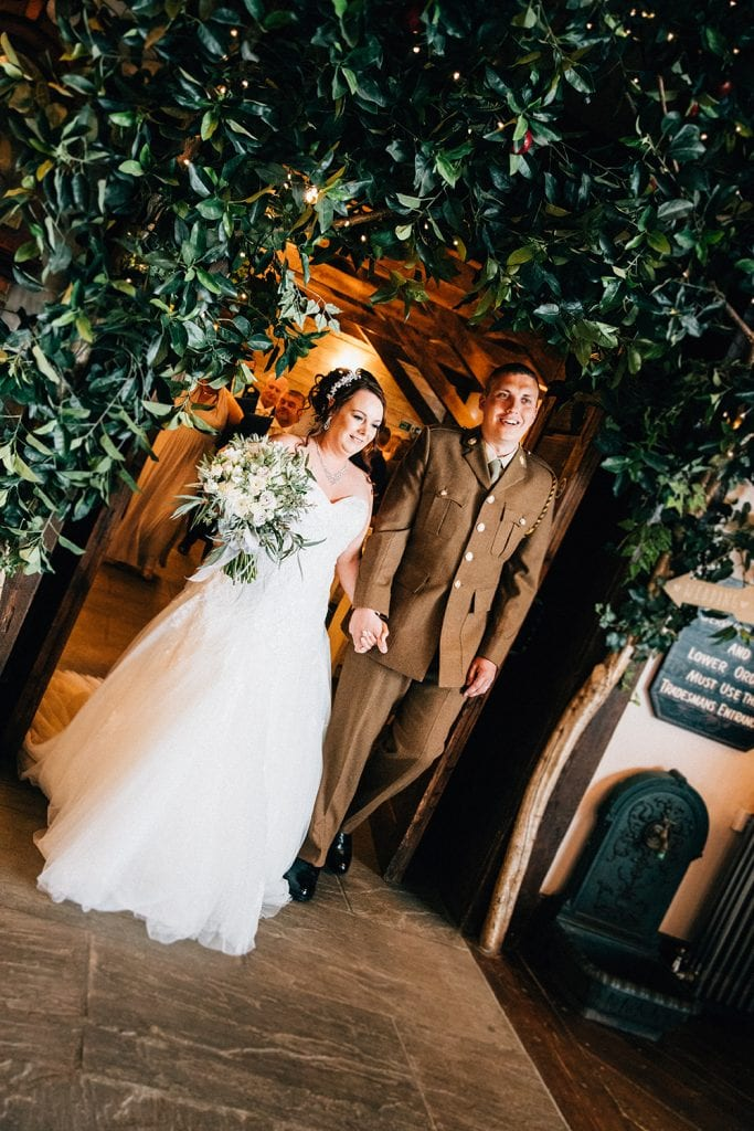 The Old Barn at South Causey Inn Wedding Photographer 42