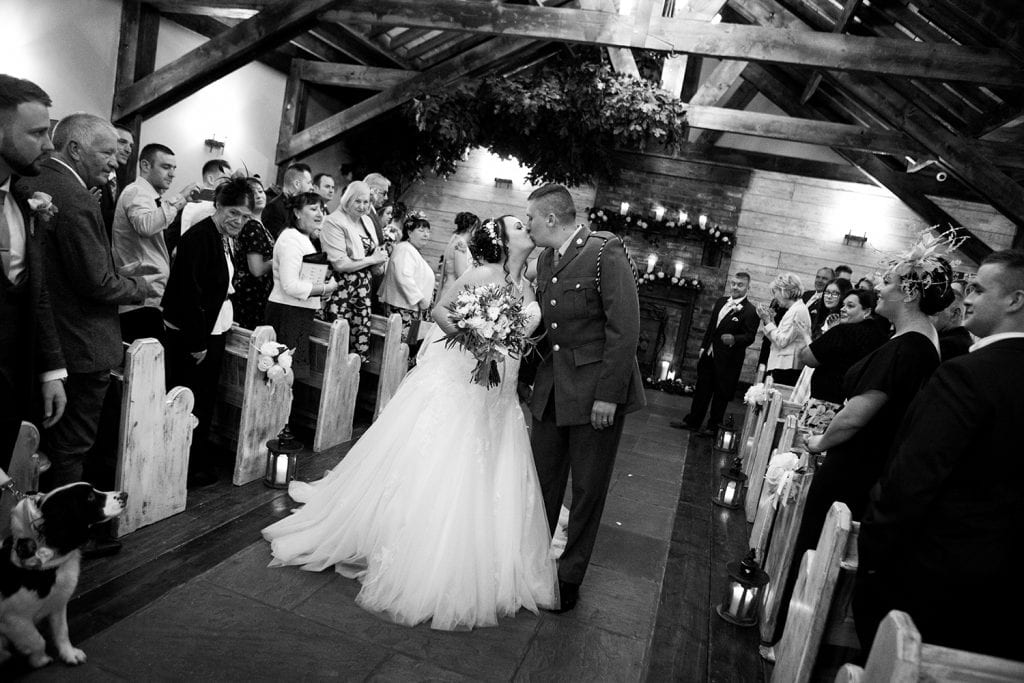 The Old Barn at South Causey Inn Wedding Photographer 43
