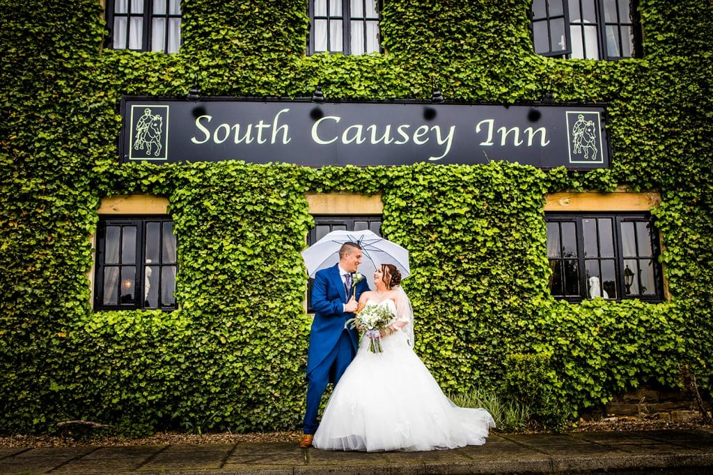 The Old Barn at South Causey Inn Wedding Photographer 46