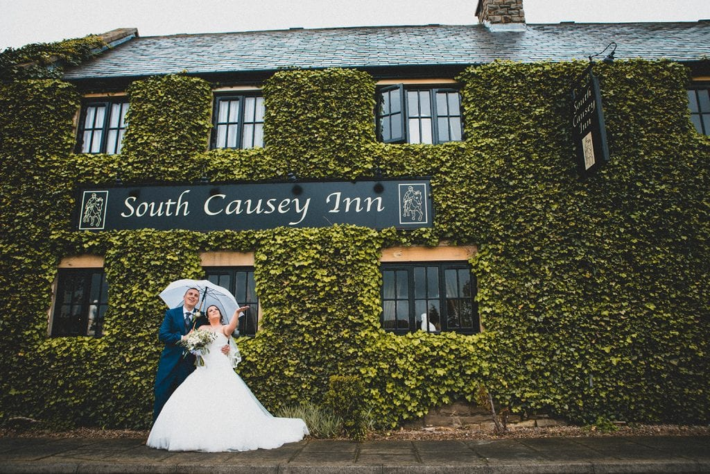 The Old Barn at South Causey Inn Wedding Photographer 47