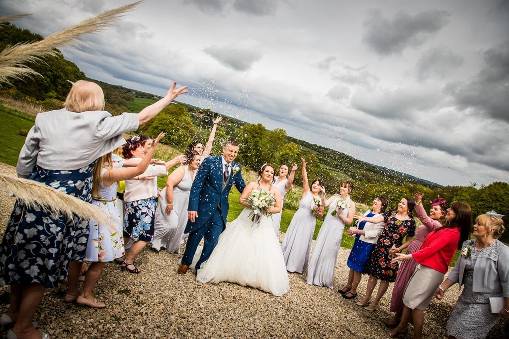 The Old Barn at South Causey Inn Wedding Photographer 49