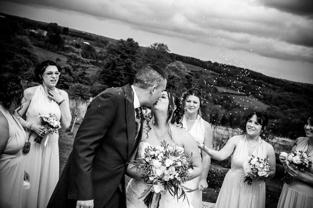 The Old Barn at South Causey Inn Wedding Photographer 50