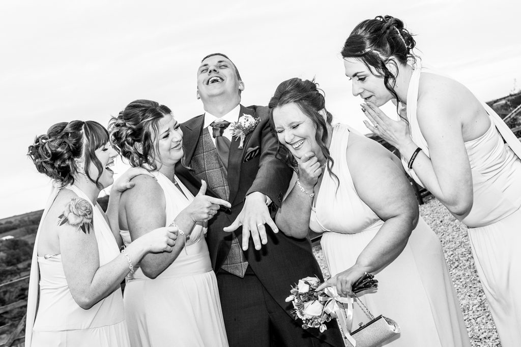 The Old Barn at South Causey Inn Wedding Photographer 66