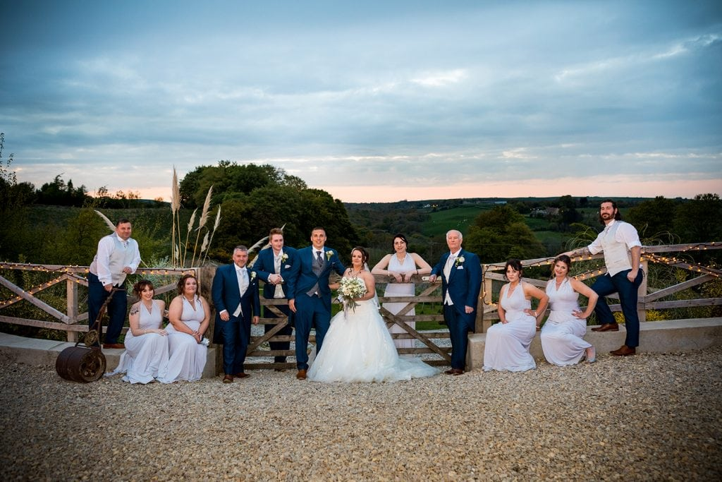 The Old Barn at South Causey Inn Wedding Photographer 77