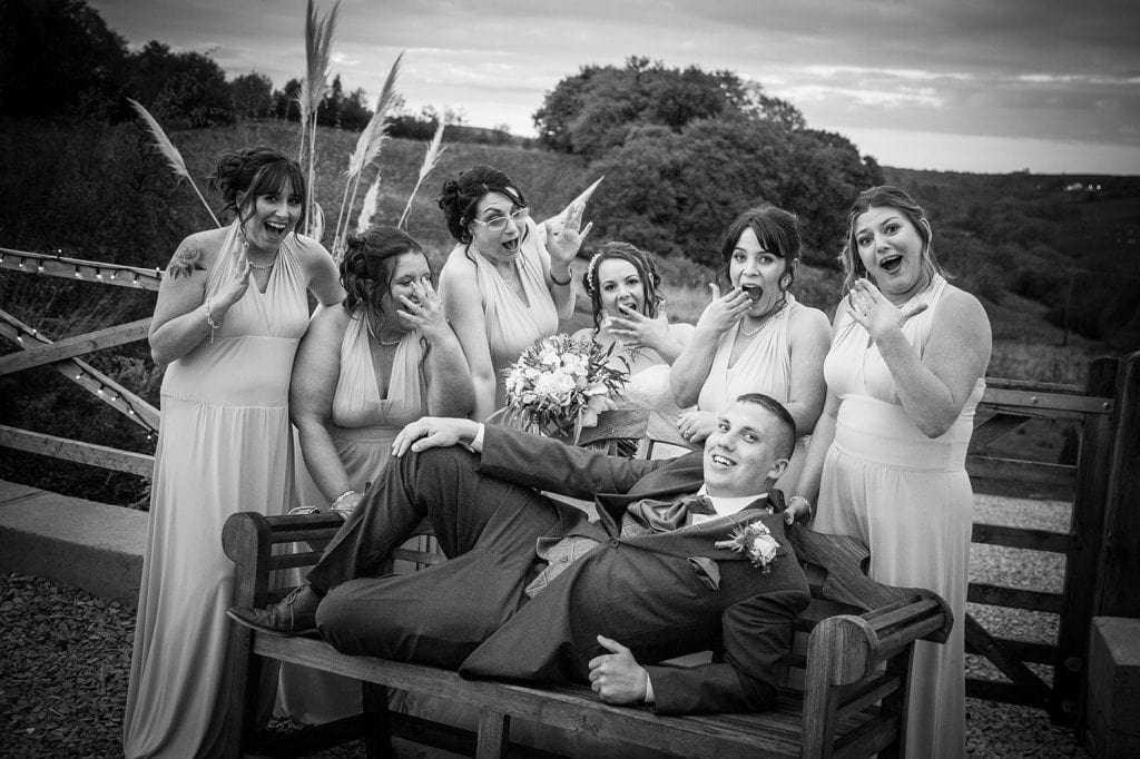 The Old Barn at South Causey Inn Wedding Photographer 78
