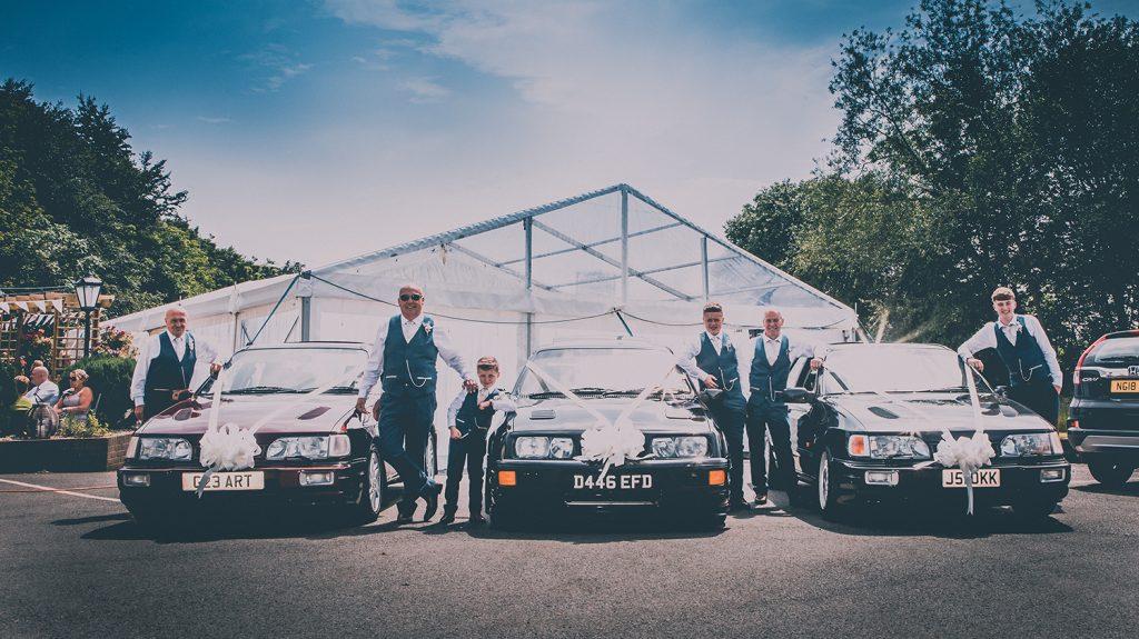 Wedding Car Sierra Cosworth 76
