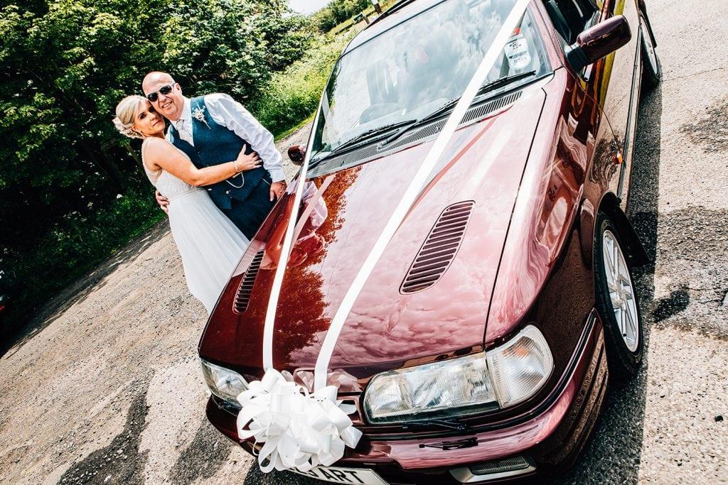 Wedding Car Sierra Cosworth 77