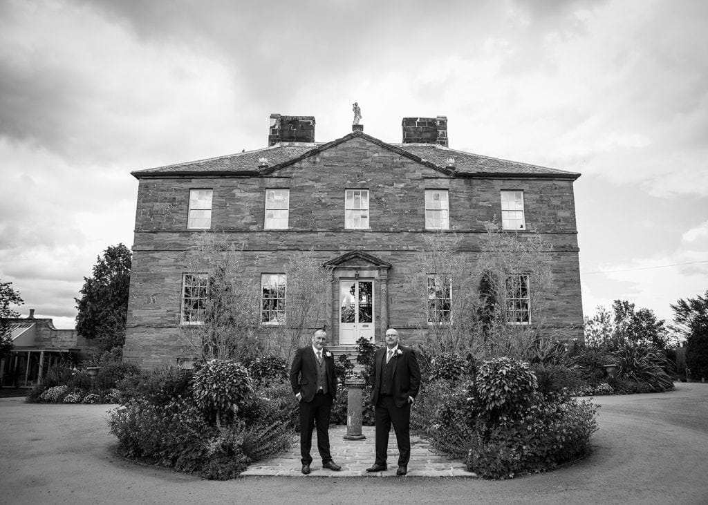 Newton Hall Wedding Photographer 05