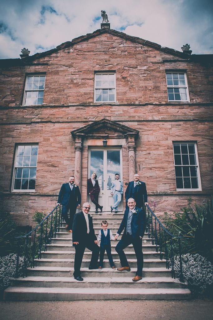 Newton Hall Wedding Photographer 11