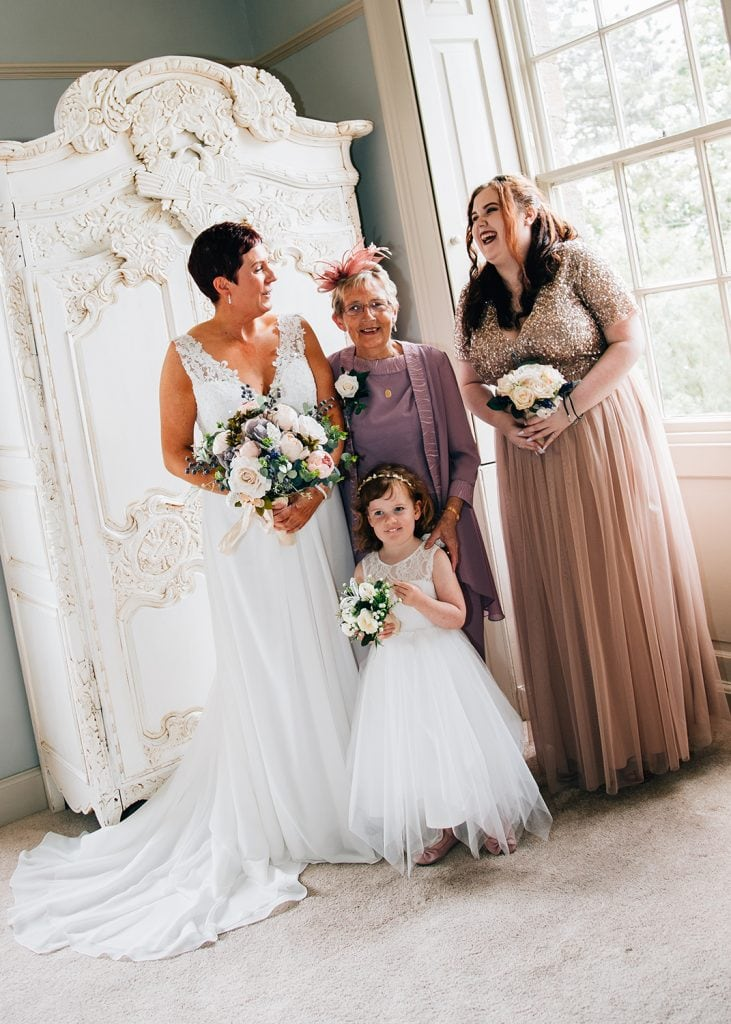 Newton Hall Wedding Photographer 30