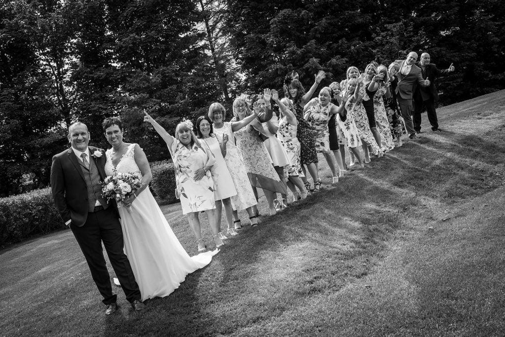 Newton Hall Wedding Photographer 68