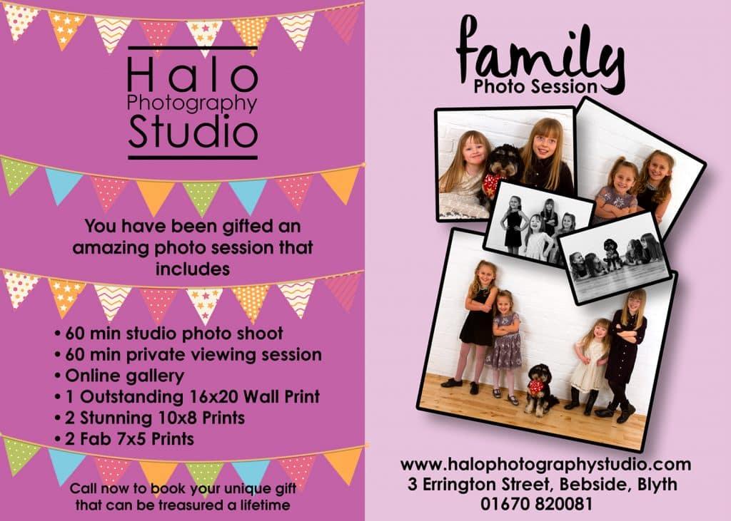 Family Photo Shoot £145 Offer