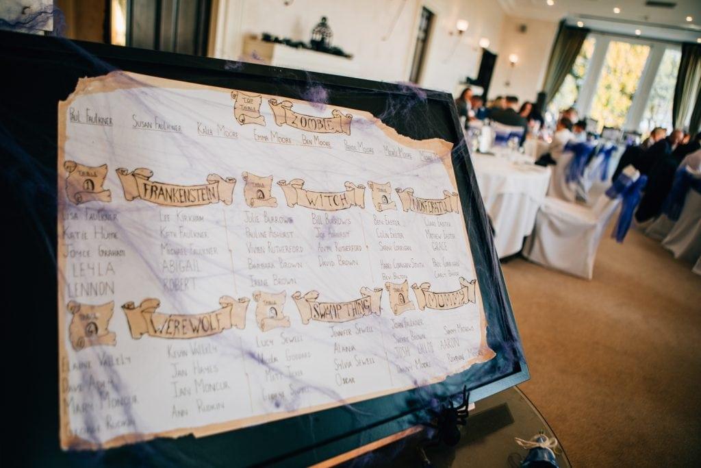Table setting board