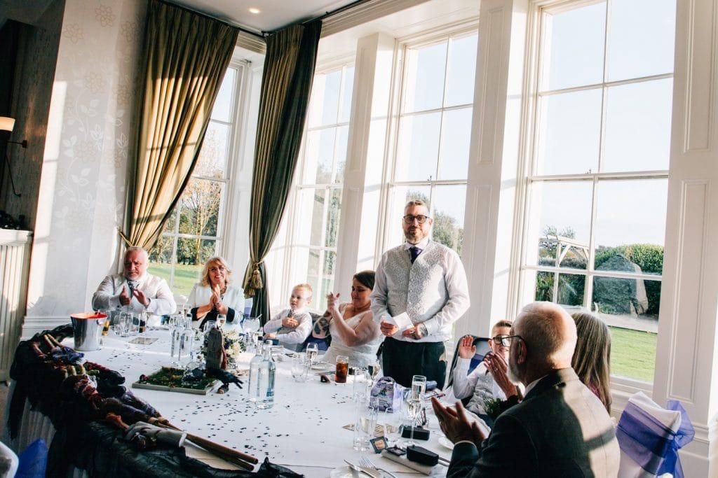 Grooms Wedding speech
