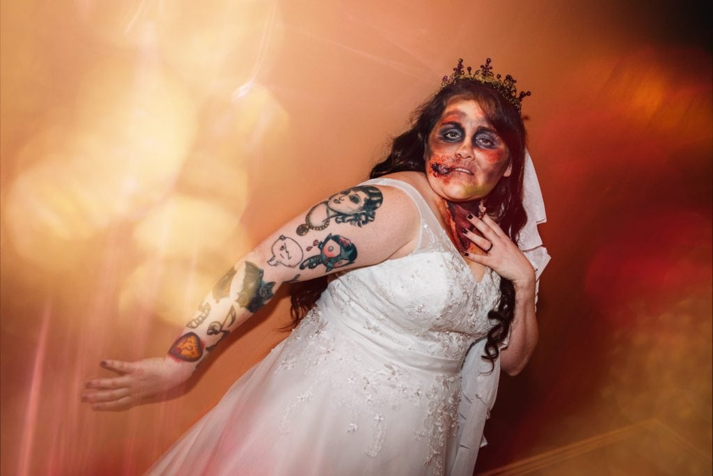 Zombie Bride at Seaham Hall