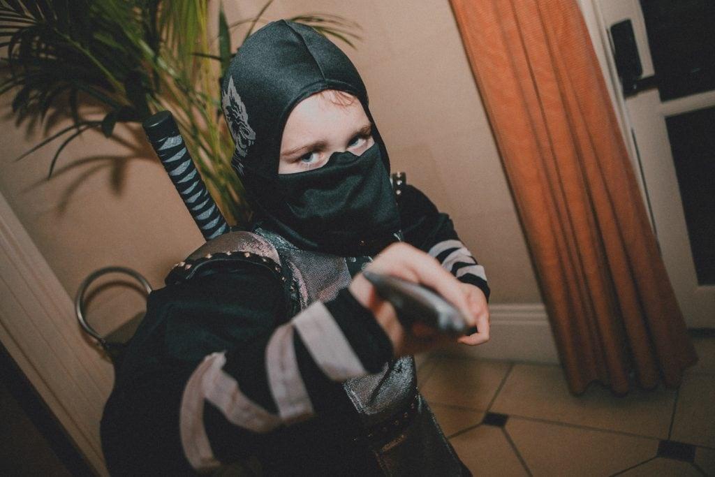 Wedding Guest Young Ninja