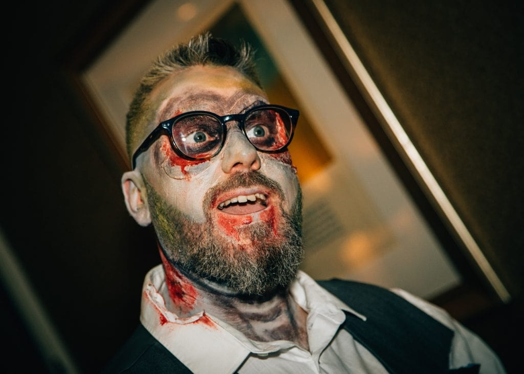 Zombie Groom at Seaham Hall
