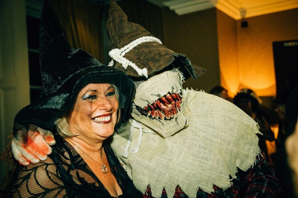 Wedding Guests in Halloween