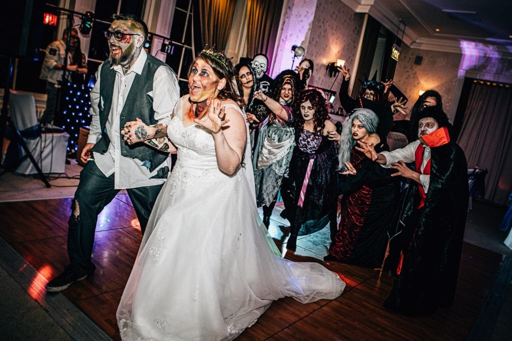 Monsters chasing Emma & Ben at Seaham Hall