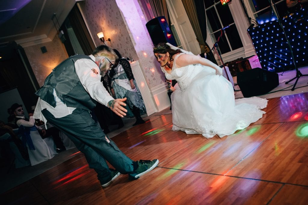 Emma & Bens first Dance at Seaham Hall