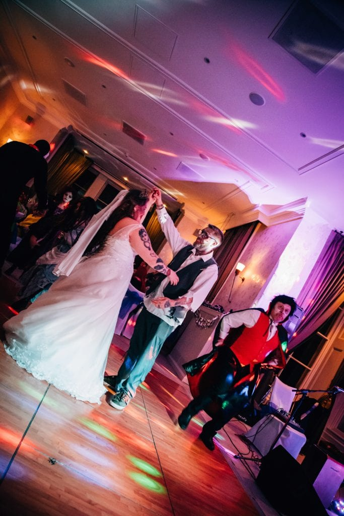 Bride & Grooms first dance at Seaham Hall