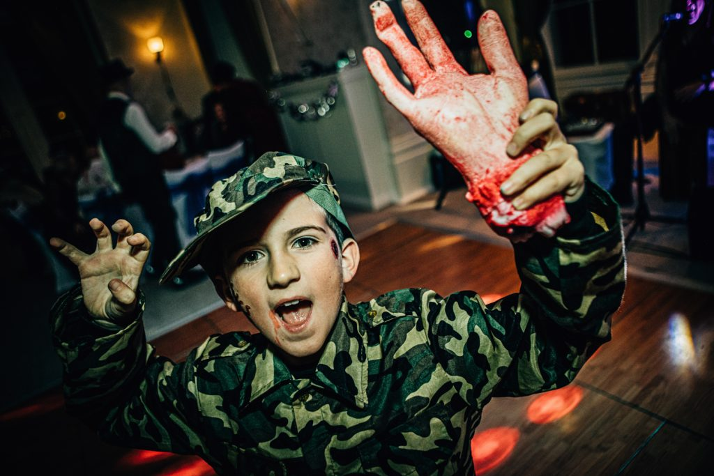 Young guest has found a severed hand at Seaham Hall