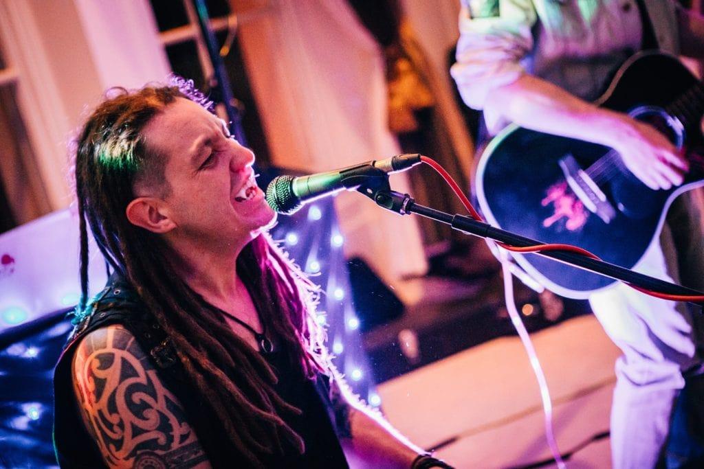 Pek & Wanley Singing in Fangs at Seaham Hall