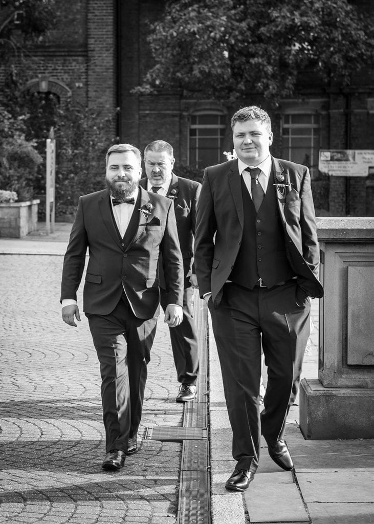 Groom Arriving at South Shields Town Hall