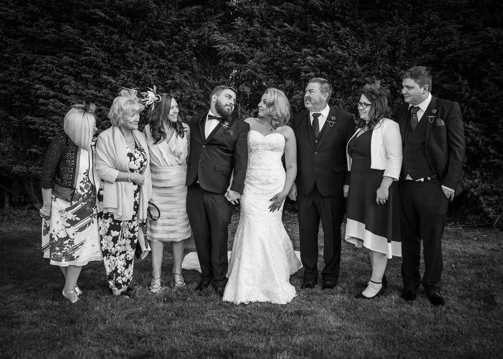 Family photos at The Greyhound Inn