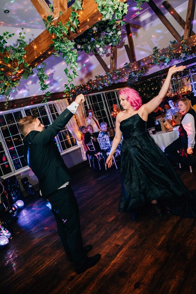 Dancing at The Greyhound Inn