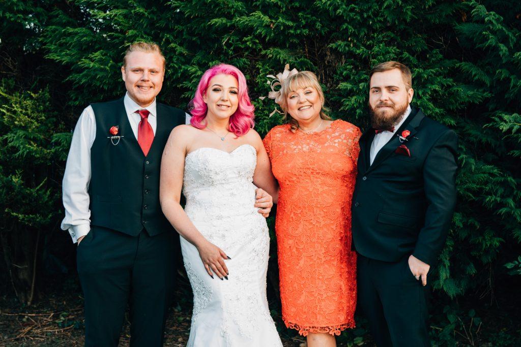 Family Photo at the Greyhound in Jarrow