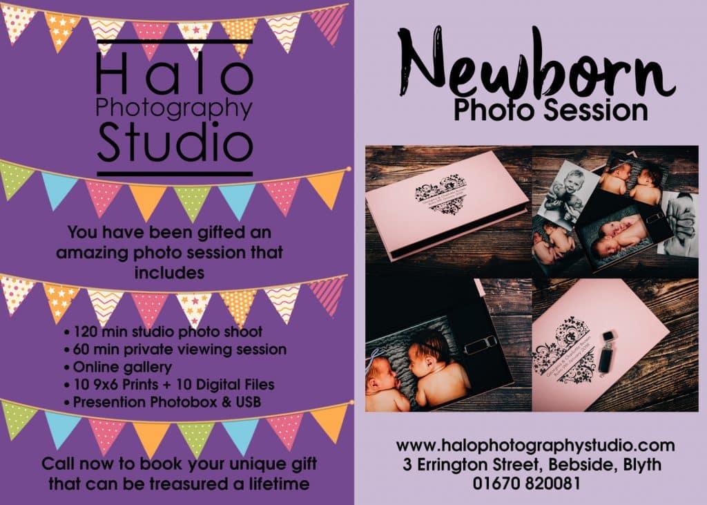 Newborn Photo Shoot £189 Package