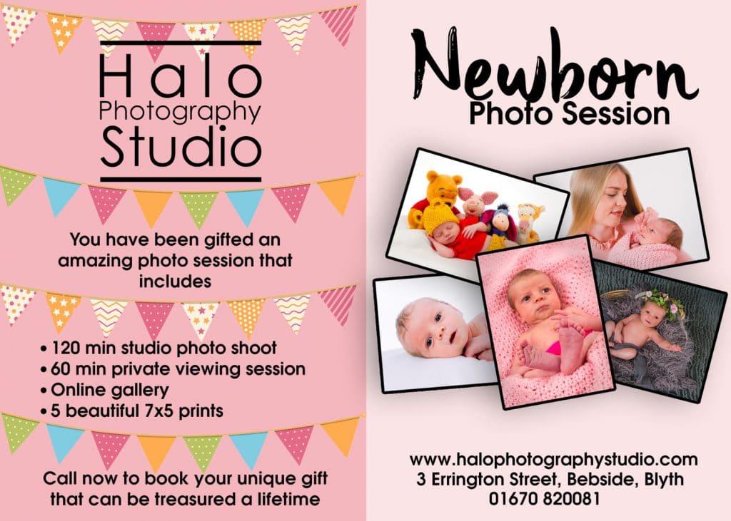 Newborn Photo Shoot £49 Package