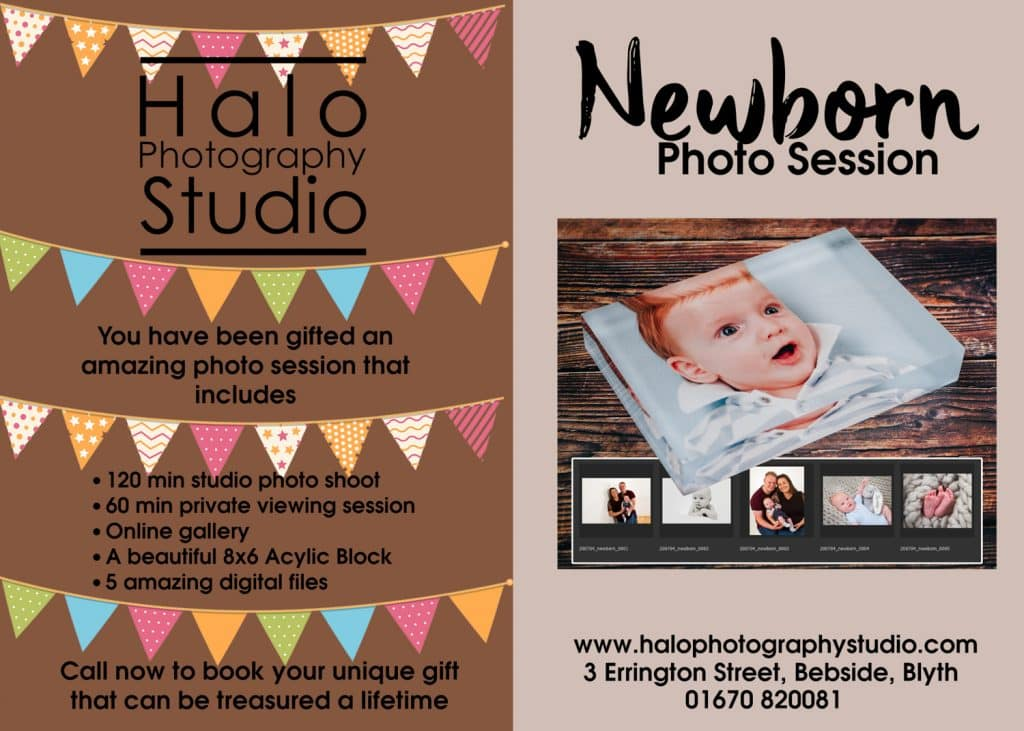 Newborn Photo Shoot £99 Package