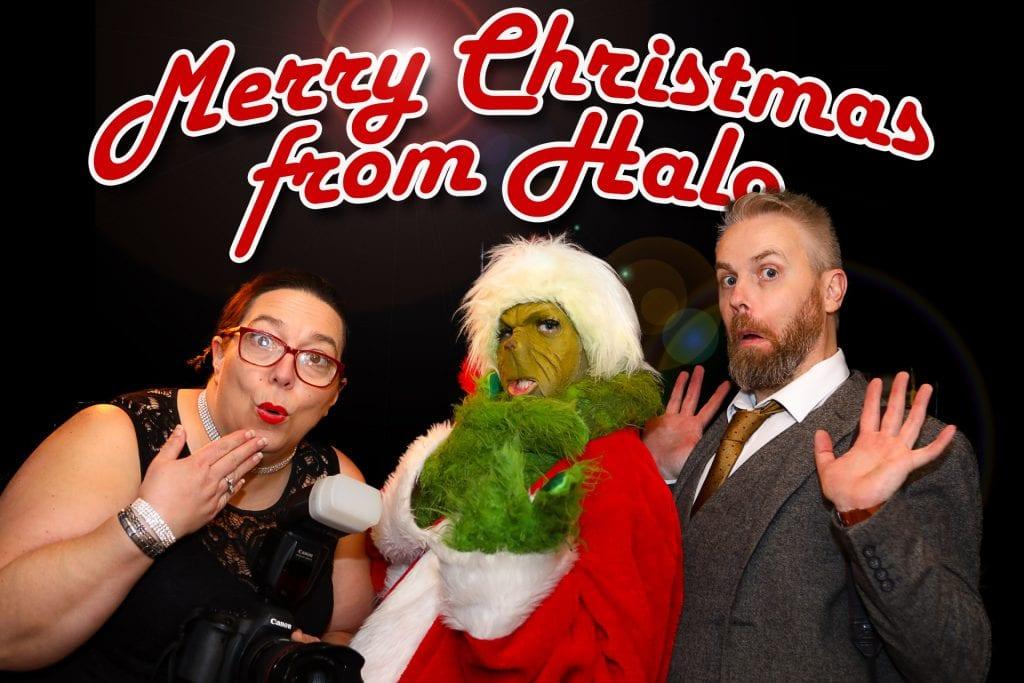 Halo Photography Christmas Photo