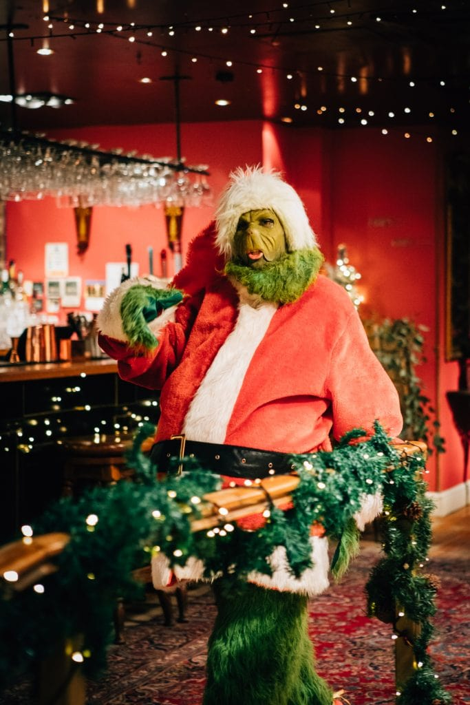 The Grinch at a Christmas Wedding