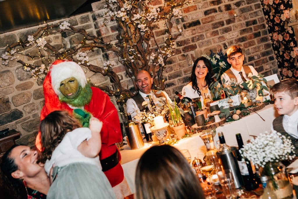 The Grinch at As you like it in Jesmond