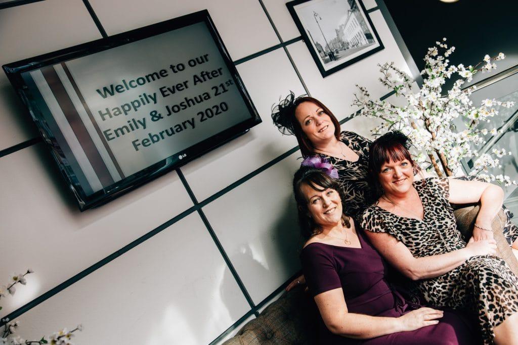 Wedding Guests at Quayside Exchange Sunderland Wedding Photography